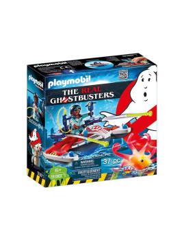 imagem de Playmobil Ghostbusters Zeddemore com Moto de Água1