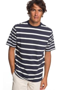 T-Shirt Homem Quiksilver Sea Fight Tee Noite parisiense