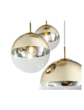 imagem de Candeeiro Suspenso Varus Metal Dourado3