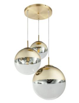 imagem de Candeeiro Suspenso Varus Metal Dourado2