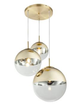 imagem de Candeeiro Suspenso Varus Metal Dourado1