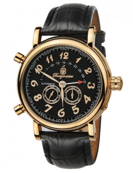 Relógio Burgmeister Homem Nevada Preto