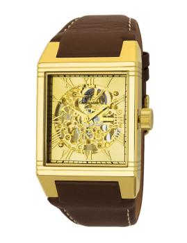 Relógio Burgmeister Homem Colchester Castanho e Dourado