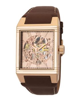 Relógio Burgmeister Homem Colchester Castanho e Cobre
