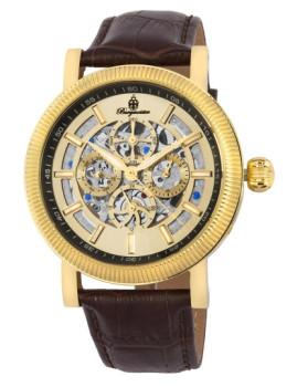 Relógio Burgmeister Homem Omaha Castanho e Champanhe