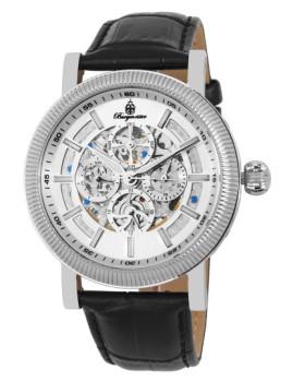 Relógio Burgmeister Homem Omaha Preto e Prateado