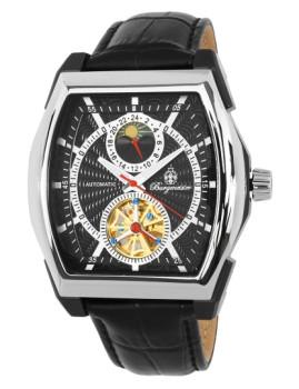 Relógio Burgmeister Homem Rockford Preto