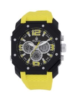 Relógio Burgmeister Homem Tokio Amarelo e Preto