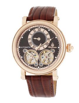 Relógio Burgmeister Homem Alicante Castanho e Preto