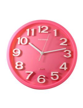 Relógio de Parede ´´Pops´´ Rosa
