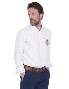 Camisa Sir Raymond Tailor Wedge Branca
