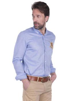 Camisa Sir Raymond Tailor Wedge Azul
