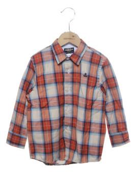 Camisa Mini rapaz Girandola Quadriculado Ref. 5