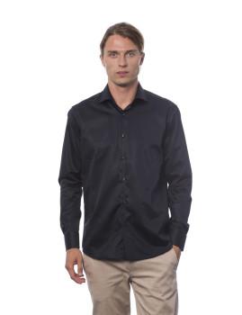 Camisa Slim Fit Trussardi U12 Preto
