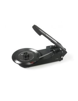 Verdadeiro Peso Pluma! Gira-Discos Portátil 33/45RPM RICATECH® com Entrada USB!