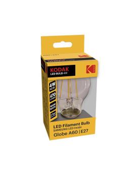 Lâmpada A60 - Filament E-27 Amarela
