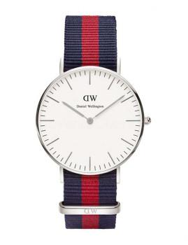 Relógio Daniel Wellington Senhora Azul-Vermelho
