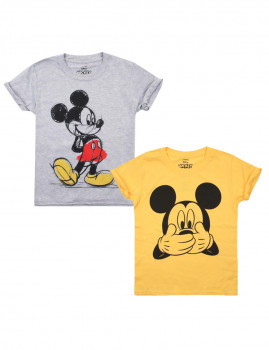 T-shirt Disney Pack 21 Criança Multicolorido