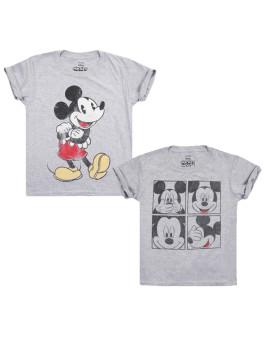 T-shirt Disney Pack 24 Criança Cinza