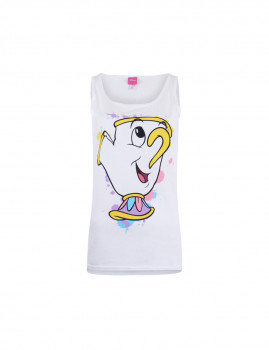 T-shirt Disney A Princess Thing Senhora Branco
