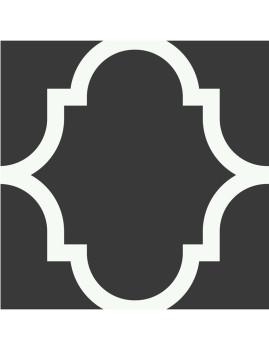 Conjunto de 12 ou 24 Azulejos Autocolantes Classics Cinza e Brancos