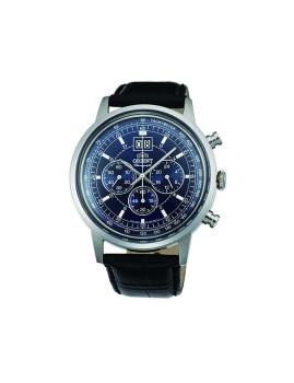 Relógio Orient Classic Homem Preto e Azul