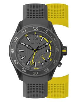 Relógio Nautica Homem Cinza