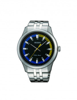 Relógio Orient Contemporary Homem Prateado e Preto