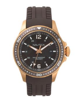 Relógio Nautica Homem Castanho