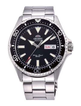 Relógio Orient Homem Metalizado e Preto