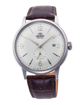 Relógio Orient Homem Castanho e Branco