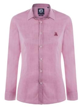 Camisa Oxford de Senhora Bordeaux Giorgio di Mare