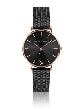 Relógio Emily Westwood Dourado rosa Preto