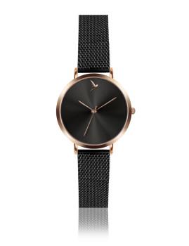 Relógio Emily Westwood Dourado Rosa e Preto Raio de sol preto