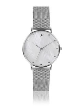 Relógio Emily Westwood Prateado MOP e Prateado