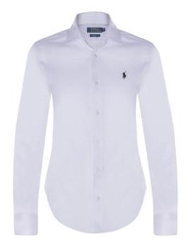 Camisa Ralph Lauren Branca Senhora