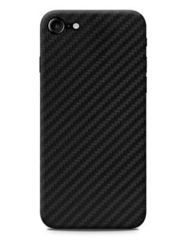 Capa Protetora Fibra de carbono Preto Para Iphone 7/8