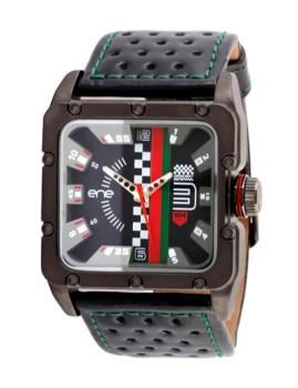 Relógio Ene 104 Racer Preto & Cinza