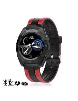 Smartwatch L3 com monitor cardíaco e notificações para iOS e Android
