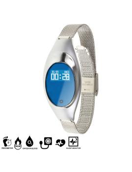 Bracelete Inteligente Smartwatch Prateado