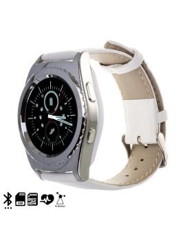 Smartwatch Branco/Prateado