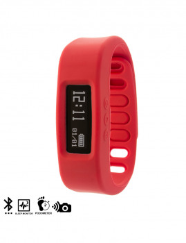 Bracelete Inteligente Smartwatch Vermelho
