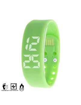 Bracelete Inteligente Smartwatch Verde