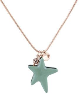 Fio Dourado c/ Estrela Verde
