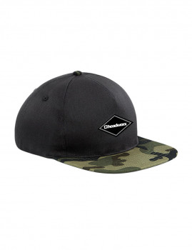 Boné Headworx Diamond Patch Preto e Camuflado