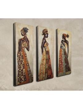 Pintura de tela decorativa (3 Peças) CU01