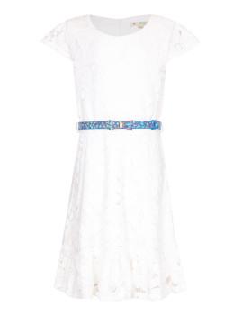 Vestido Skater Yumi Girls Branco
