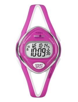 Relógio Timex Ironman Feminino Rosa & Branco