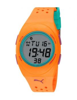 Relógio Puma Laranja e Verde Água