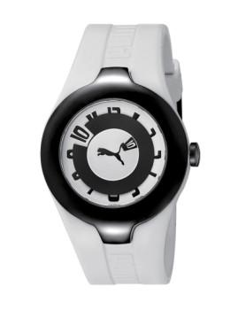 Relógio Puma Branco e Preto